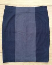 Ultrasuede Pencil Skirt By Shades of Grey Size 8 NW ANTHROPOLOGIE Tag