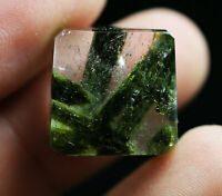29ct Rare NATURAL Clear  tourmaline Crystal Polished