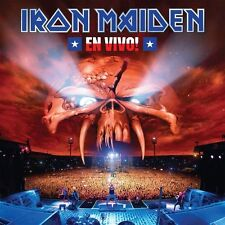 Iron Maiden - En Vivo 3x 180g vinyl LP 28/07/17 NEW/SEALED