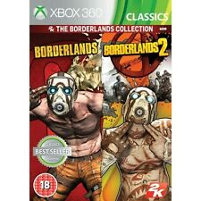 Borderlands 1 and 2 Collection (Classics) Game XBOX 360 - Brand New!