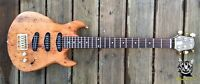 Reloved Guitars custom Oakcaster Travel Guitar limited edition #20 of 21