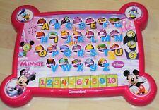 Disney Character Electronic Alphabet and Number Toy