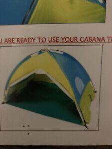 Children's Pop Up Beach Tent Sun Shelter Shade Easy Up Cabana Beach Tent UV