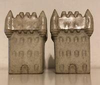 Vintage Castle Salt & Pepper Pots Novelty Cruet Set