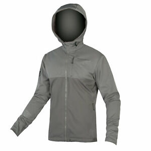 Endura SingleTrack Softshell II Large L Pewter Grey Jacket, RRP £100