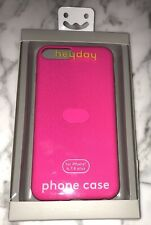 NWT Heyday Neon Pink Iphone Case Cover 6 7 8 Plus