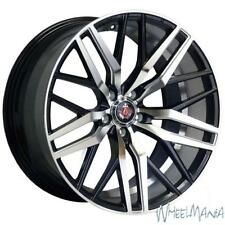 "20"" JAGUAR XF ALLOYS AXE EX30 IN GLOSS BLACK & POLISHED FACE"