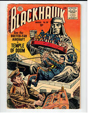 Quality Comics BLACKHAWK #98 - G- March 1956 Vintage Comic