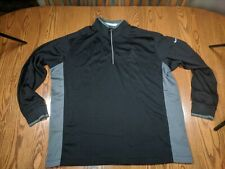 Nike Golf Dri Fit Zip Pullover Long Sleeve Oakland Athletics A's High Quality