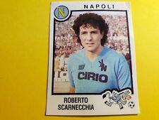SCARNECCHIA NAPOLI FIGURINA ALBUM CALCIATORI PANINI 1982/83 n°183 rec