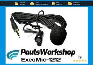 Original ExeoMic-1212 Microfon Autoradio Bluetooth PC Laptop Radio GPS Mikrofon