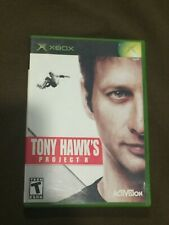 Original Microsoft XBox Video Game Tony Hawk's Projects 8 Rated T