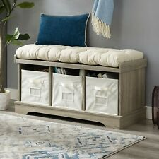 Farmhouse Storage Benches