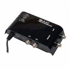 2 vie da interno Tv Antenna Booster Amplificatore Digitale Freeview 12dB guadagno Occhio Magico