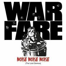 Warfare – Noise Noise Noise Lost Demos LP / Red Vinyl / New (2015) Thrash Metal