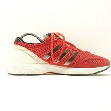 Mens Adizero Adios Running Shoes - Adidas Size 7.5 - Red and White