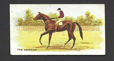 BRITISH AMERICAN (PRINTED) - MELBOURNE CUP WINNERS - THE ASSYRIAN, 1882