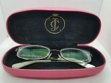 JUICY COUTURE JAMIE DESIGNER RX GLASSES FRAMES 0FX3 52-17-135 with case