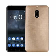 Ultra-thin Synthetic fiber Carbon Fiber Plastic Back Cover Case For Nokia 6-New