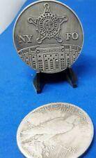 RARE SECRET SERVICE NEW YORK FIELD OFFICE YANKEE STADIUM PEWTER CHALLENGE COIN