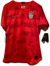 Nike 3-Star Usa Team Womens Uswnt Red World Cup Usa Soccer Jersey Sz Xsmall