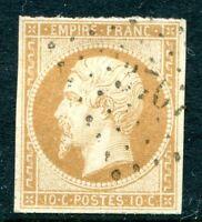 France N° 13 oblitération bureaux Français à l'étranger PC 3707 Constantinople
