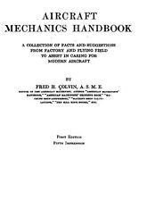 AERONAUTICA AIRCRAFT USA - Aircraft Mechanics Handbook 1918 4a Ed. Manual - DVD