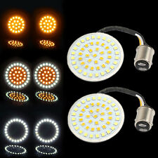 1157 LED Inserts Bullet Turn Signal Light Bulb For Harley Dyna Sportster Softail