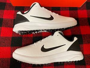 Men's Nike Golf Shoes Infinity G Black/White Size 8 NEW
