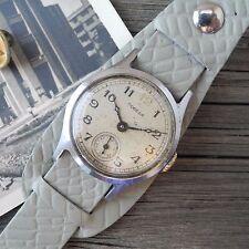 Vintage Pobeda Soviet USSR Russian Men's Watch Serviced