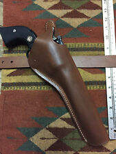 "Super Redhawk 44Magnum 7.5"" Dual Two Position Brown Leather Holster Cross Draw"