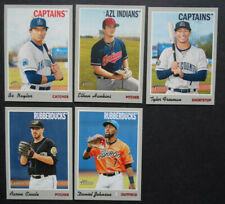 2019 Topps Heritage Minor League Cleveland Indians Base Team Set 5 Baseball Card