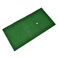 pratical golf practice mat antiskid chipping driving range training aid turf  IY