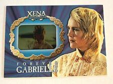 XENA SEASON 6 FOREVER GABRIELLE RARE INSERT 210/750 NM