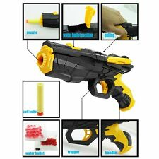 Kids Gift Educational Water Shooting Soft Bullet Gun Pistol Paintball