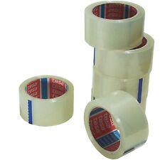 tesa 64014 Klebeband Paketklebeband Packband 66m X 50mm (12 Rollen Transparent)