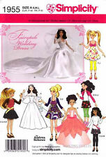 Simplicity 1955 Fairytale Wedding Dress &Other Delightful Wardrobe Items Pattern