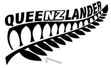 AOTEAROA NEW ZEALAND KIWI FERN QUEENSLAND QUEENZLANDER STICKER 3