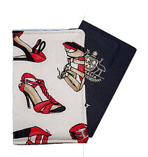 PASSPORT COVER/FOLDER/WALLET - RED SHOES hand crafted by Graggie Australia*GA