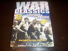WAR CLASSICS Pacific War WWII US Marine Battles Army Burma US Navy DVD Set NEW