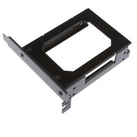 Dual 2.5'' Hard Drive Tray Mounting Bracket HDD SDD Bay Holder with Screws