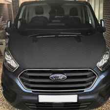 Ford Transit Custom Bonnet Bra/Protector (2018 ONWARDS) (Black Diamond)
