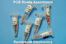 Assortment 6 x 25 HQ Rivets A to F - TH Eyelets for Double Sided PCB (NL)