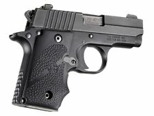 Hogue Sig Sauer P238 Rubber Grip With Finger Grooves Black .380ACP .380 38000