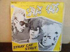 "7"" Stray Cats – Stray Cat Strut - VG+/EX -  Arista – 103.183 - BELGIUM"