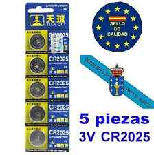 Blister 5 pilas CR2025  lithium button cell battery 3v.