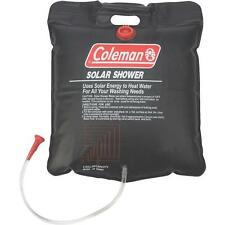 Coleman 5 Gallon Black PVC Hanging Solar Camping Shower Bag 2000014865