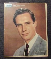 1961 Aug 20 SUNDAY New York News VG 4.0 Bradford Dillman Cover