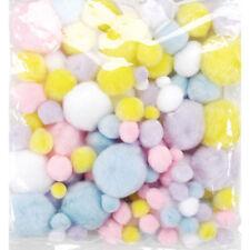 Pompons Darice  Tailles Mixtes x 100 Couleurs Printemps / Pastels
