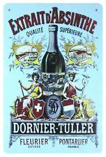 Absinthe Dornier-Tuller alcoholic beverage tin sign bedroom design